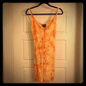 Free-size sherbet Boho Dress